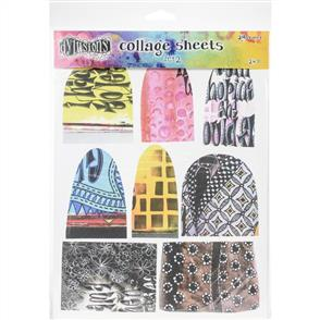 "Ranger Ink  Dyan Reaveley's Dylusions Collage Sheets 8.5""X11"" 24/Pkg - Set 2"