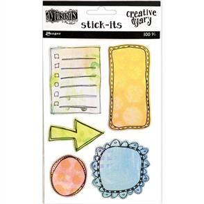 Ranger Ink Dyan Reaveley's Dylusions - Creative Dyary - Stick Its - 100/pk