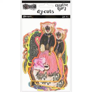 Ranger Ink  Dyan Reaveley's - Dylusions - Creative Dyary - Die Cuts 24/Pkg