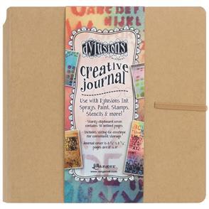 "Ranger Ink  Dylusions Creative Journal Kraft - 8.75""X9"""