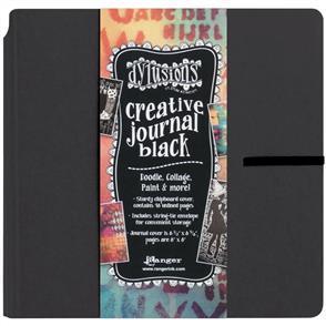 Ranger Ink Dyan Reaveley's Dylusions Creative Journal - Black