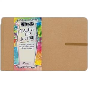 "Ranger Ink Dylusions Creative Flip Journal Large Kraft 12""X8.5"""