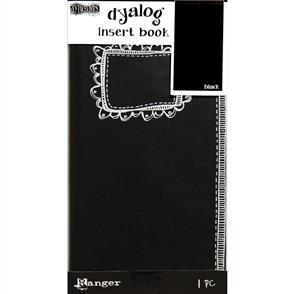 Ranger Ink  Dyan Reaveley's Dylusions Dyalog Insert Book - Black #2
