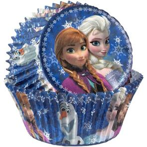 Wilton Disney Frozen Baking / Cupcake Cups - 50/pack