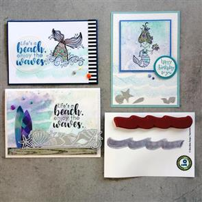 Impression Obsession  Stamp - Making Waves