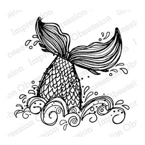 Impression Obsession  Stamps - Mermaid Tail