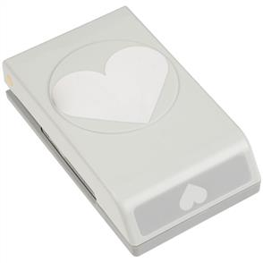 "EK Tools  Large Punch - Heart, 2.5""X2"""