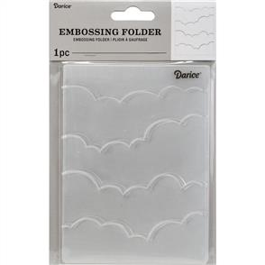 Darice  Embossing Folder - Clouds #2