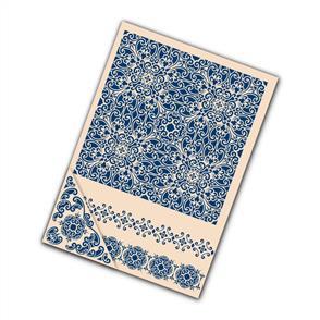 Tattered Lace  Embossing Folders 4/pk - Ornamental
