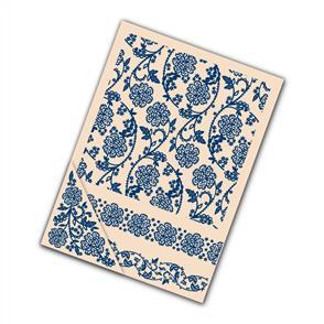 Tattered Lace  Embossing Folders 4/pk - Lace Daffodil