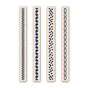Tattered Lace  Embossing Folders 4/pk - Elegant Set