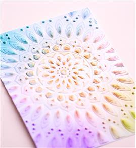 Memory Box Embossing Folder: Serene Mandala