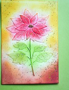 Memory Box Magnificent Poinsettia 3D Embossing Folder