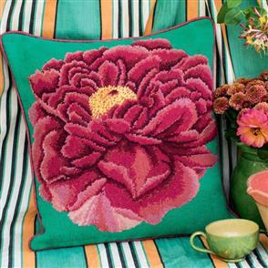 Ehrman Tapestry Kit - Dark Peony