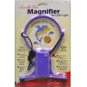 Sew Easy  Hands Free Magnifier with LED Light