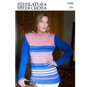 Filatura Di Crosa Pattern F1004 Striped Tunic