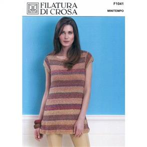 Filatura Di Crosa Pattern F1041 Fioerlla Tunic