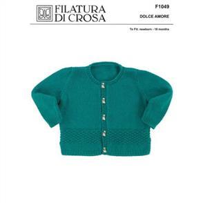 Filatura Di Crosa  Pattern F1049 Cardigan
