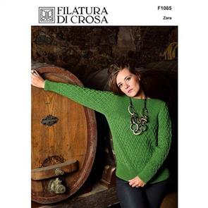 Filatura Di Crosa Pattern F1085 Lattice Pullover