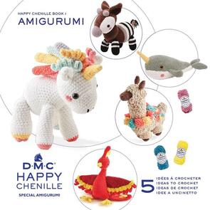 DMC Happy Chenille Amigurumi Book 1 Improbable Animals