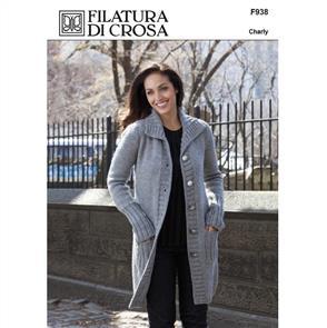 Filatura Di Crosa F938 - Giada Coat - Knitting Pattern