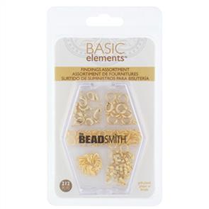The Beadsmith The Bead Smith - Findings Assortment Gold