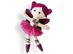 Funky Friends Factory Sugar Plum Fairy Toy Sewing Pattern