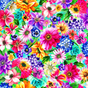Clover  Fantasy II - Floral - Multicoloured - 59-446