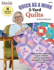 Fabric Cafe Quick As A Wink 3-Yard Quilts