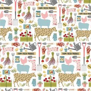 Poppie Cotton  Farmgirls Unite Collection - 54730 - Country Life - 102