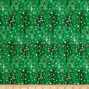 MISC  Fabri-Quilt - Season's Greetings - 103712 Green