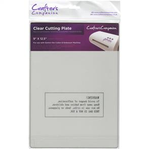 "Crafters Companion Gemini Cutting Plate - Clear 9""X12.5"""