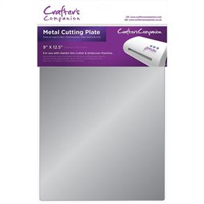 "Crafters Companion Gemini Cutting Plate - Metal 9""X12.5"""