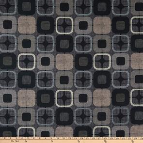 "Blank Quilting  Geo Squares 108"" Black"