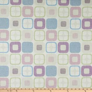 """Blank Quilting  Geo Squares 108"""" Lilac"""
