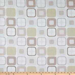 """Blank Quilting  Geo Squares 108"""" Tan"""