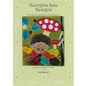 Georgina Jane Designs Henrietta and Henry Hedgehog