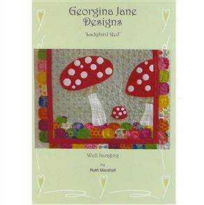 Georgina Jane Designs Ladybird Red
