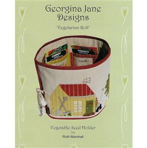 Georgina Jane Designs Vegetarian Roll - Vegetable Seed Holder