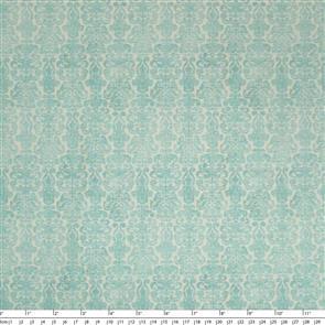 Quilting Treasures Santoro Gorjuss Fabric: My Story Brocade - Light Blue