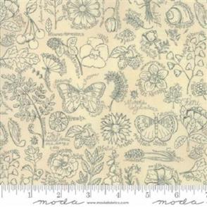 Moda  Garden Notes - 6090