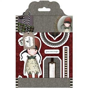 DoCrafts Santoro Gorjuss Rubber Stamp Set: Holly