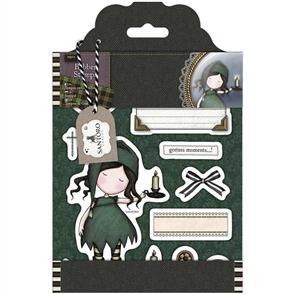 DoCrafts Santoro Gorjuss Rubber Stamp Set: Nightlight