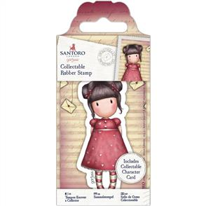 DoCrafts Gorjuss Collectable Mini Rubber Stamp: No. 54 Sweetheart