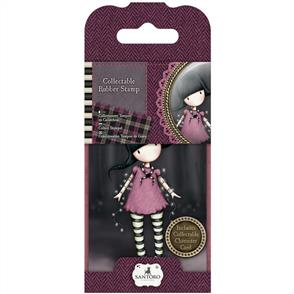 DoCrafts  Gorjuss Collectable Mini Rubber Stamp: Fairy Lights #13