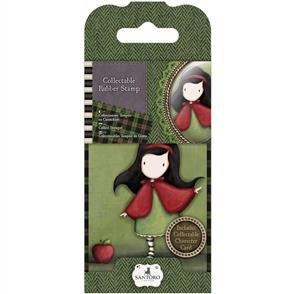 DoCrafts Gorjuss Collectable Mini Rubber Stamp: Little Red #14