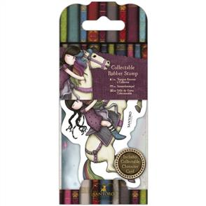 DoCrafts  Gorjuss Collectable Mini Rubber Stamp: No. 38, The Runaway