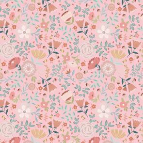 Poppie Cotton  Goose Creek Gardens, Wildflower, Pink 111