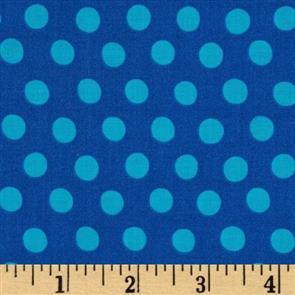 Free Spirit  Kaffe Fassett Fabric - Spot GP70 Sapphire