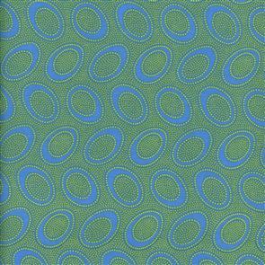Free Spirit Kaffe Fassett Fabric - Aboriginal Dot Ocean